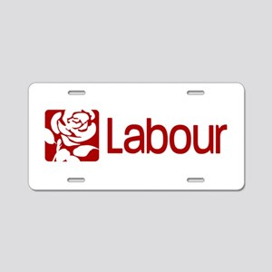 Labour Party Aluminum License Plate